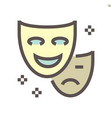 performance full face mask icon design 48x48 vector image