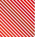 Red diagonal stripe background design vector image vector image