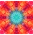 Retro pattern made of hexagonal shapes Mosaic vector image vector image