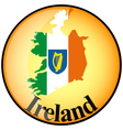 button Ireland vector image