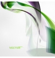 Concept abstract background futuristic wavy vector image