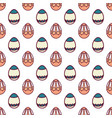 easter eggs seamless pattern14 vector image vector image