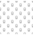 mouse virus pattern seamless vector image
