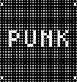 punk dots vector image