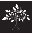 tree emblem tree icon for logo vector image vector image