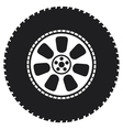 wheel - tyre vector image