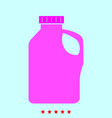 household chemicals set it is color icon vector image