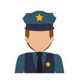 avatar police man vector image