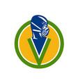 fumigation pest control service icon vector image vector image
