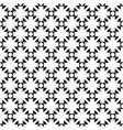geometric seamless texture flowers crosses vector image