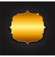 Golden Shiny Frame vector image