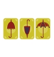 Pictures of umbrellas vector image vector image