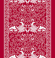 seamless vertical pattern in a chinese style vector image