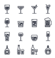 Alcohol Beverage Icon vector image vector image