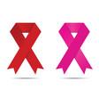 brest cancer awareness symbol vector image