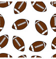 football seamless vector image