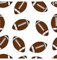 football seamless vector image