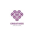grapes logo inspirationberry logo design symbol vector image