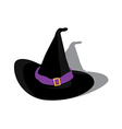 Witch hat vector image vector image