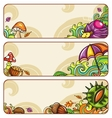 autumn banners part 1 vector image vector image