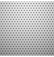 White metal texture with holes vector image vector image