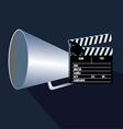 Cinema design vector image