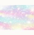 galaxy fantasy background and pastel color vector image