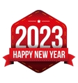 Happy New Year 2023 vector image vector image