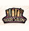 logo for hair salon