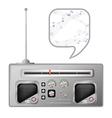 old radio tuner vector image vector image