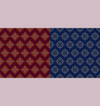 simple geometric batik seamless pattern