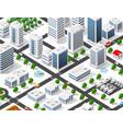 urban area city vector image vector image