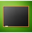 blackboard on the wall vector image