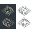 arduino romeo v2 drawings vector image vector image
