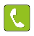 phone telephone app isolated icon vector image