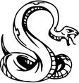 snake - halloween set vector image