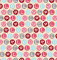 StValentines Day Love and heart vector image