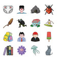 toy horror story and other web icon in cartoon vector image