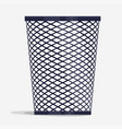 wire holder basket office organizer box vector image