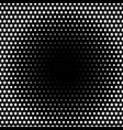 halftone effect with stars vector image