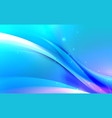 abstract wavy with blurred light curved lines vector image vector image