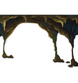 Cave vector image