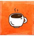 Cup of Coffee Cartoon vector image vector image