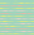 horizontal lines background pink yellow green vector image