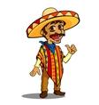 Mexican man vector image vector image