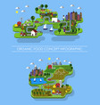natural food infographic vector image