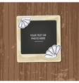 Photo frame birthday vector image