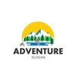 adventure wild logo vector image vector image