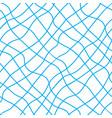 blue seine seamless pattern vector image