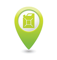 canister GREEN map pointer vector image vector image